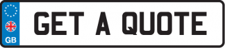Get a quote number plate